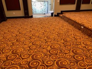 custom commercial carpet installation